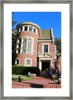 American Horror House 1 Framed Print by Jera Sky