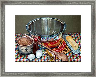 American Icon Framed Print by Pamela French Barber