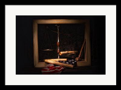 Legal System Framed Prints