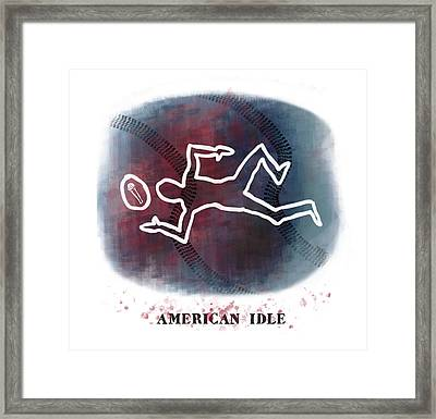 American Idle Framed Print by Mark Armstrong