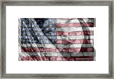 American Innocence Framed Print