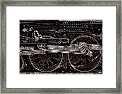 American Iron Framed Print
