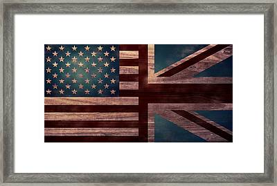 American Jack II Framed Print by April Moen