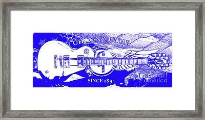 American Legend Blue Framed Print
