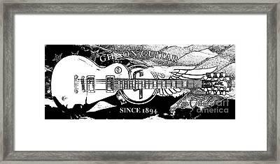 American Legend Bw Framed Print