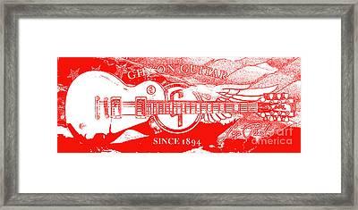 American Legend Red Framed Print