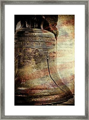 American Liberty Framed Print
