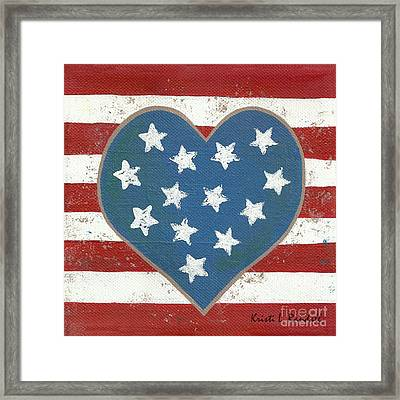 American Love Framed Print by Kristi L Randall