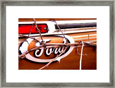 American Made Framed Print