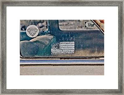 American Made Framed Print by Merrick Imagery