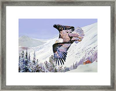 American Majesty  Framed Print by David Lloyd Glover