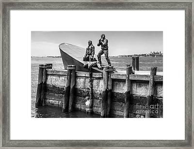 American Merchant Mariners Memorial New York City Framed Print