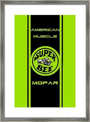 American Muscle - Mopar Framed Print