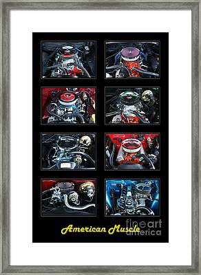 American Muscle Framed Print by Olivier Le Queinec