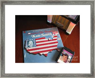 Framed Print featuring the photograph American Music by Michael Krek