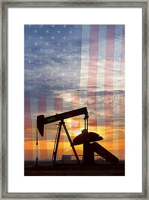 American Oil 2 Framed Print by James BO  Insogna