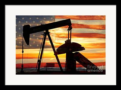 Oil Industry Framed Prints