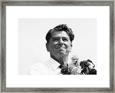 American Optimism Framed Print