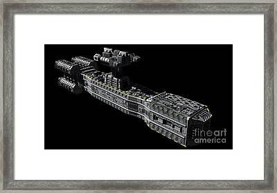 American Orbital Weapons Platform Framed Print by Rhys Taylor