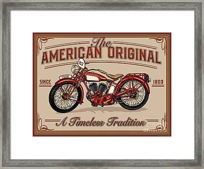 American Original Framed Print by JQ Licensing
