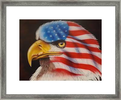 American Pride Framed Print by Darren Robinson
