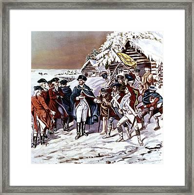 American Revolution 1777 Congress Framed Print