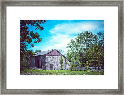 American Revolutionary War Hospital Framed Print