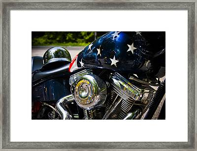 American Ride Framed Print by Adam Romanowicz