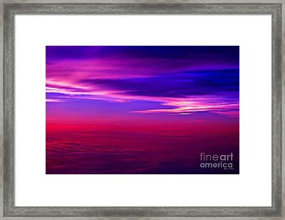 American Sky Framed Print