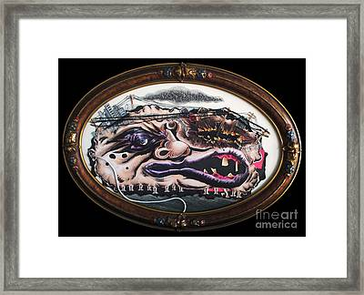 American Slothic Framed Print