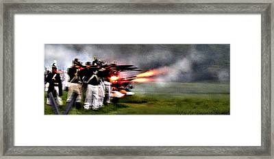American Soldiers In Stoney Creek Battle Of 1813  Framed Print by Danielle  Parent