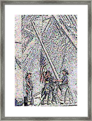 American Spirit Framed Print by Alys Caviness-Gober