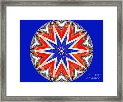 American Star Framed Print by Annette Allman