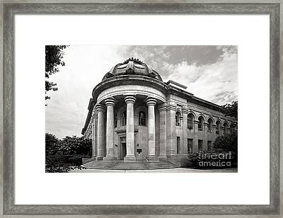 American University Mc Kinley Building Framed Print by University Icons