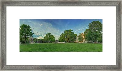 American University Quad Framed Print