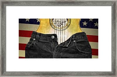 American Woman Framed Print