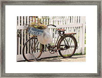 Americana Framed Print by Art Block Collections