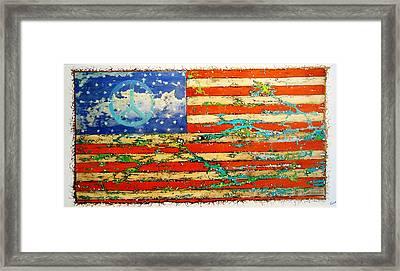 Americana Framed Print by Emil Bodourov