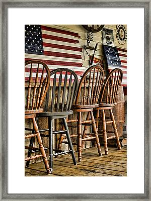 Americana Framed Print by Heather Applegate