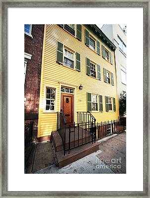 Americana In Nyc Framed Print by John Rizzuto