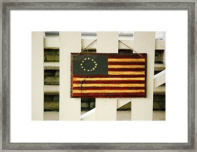 Framed Print featuring the photograph Americana by James Kirkikis