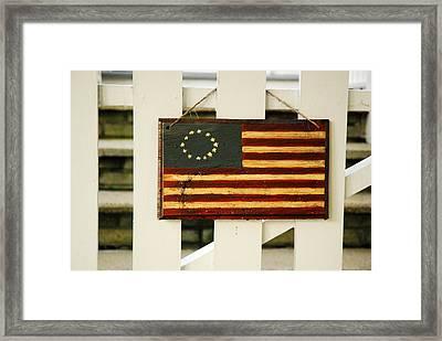 Americana Framed Print by James Kirkikis