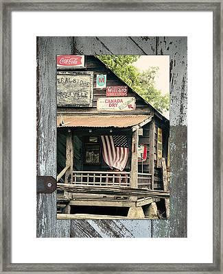 Americana Framed Print by Linda Olsen
