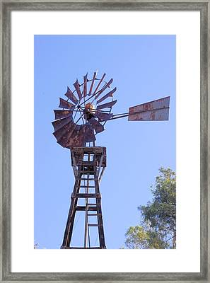 Americana Power Framed Print by David Rizzo