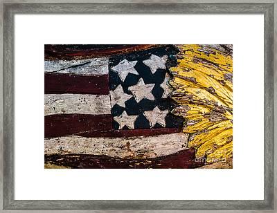 Americana - Stars And Stripes Framed Print