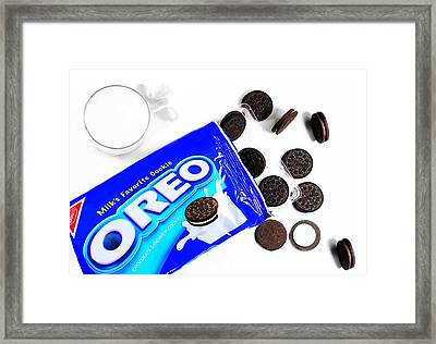 America's Favorite Cookie Framed Print by Diana Angstadt