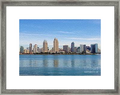 Americas Finest City Framed Print