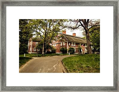 America's Oldest Inn Longfellow's Wayside Inn In Sudbury Massachusetts Framed Print