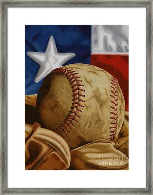 America's Pastime 2 Framed Print by Cory Still