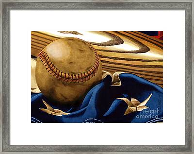 America's Pastime 3 Framed Print by Cory Still